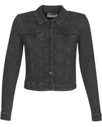 Noisy May Nmdebra Denim Jacket - Black