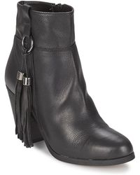 Carvela Kurt Geiger Stan Low Ankle Boots - Black
