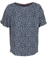 S.oliver Dirzo Women's Blouse In Blue