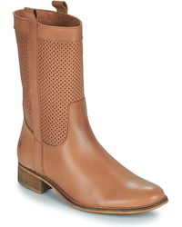 Betty London Orype High Boots - Brown