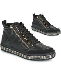 Geox Leelu Shoes (high-top Trainers) - Black