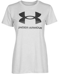 Under Armour Graphic Ssc T Shirt - Grey