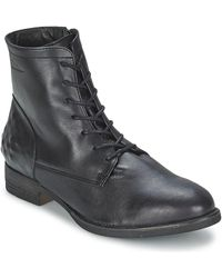 Redskins Sotto Women's Mid Boots In Black