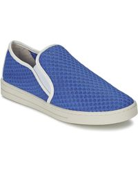 Mellow Yellow Sajoging Slip-ons (shoes) - Blue