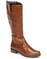 Tamaris Cari High Boots - Brown