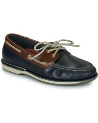 Rockport Perth Ports Of Call Boat Shoe - Blue
