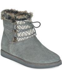 Roxy - Tara J Boot Chr Mid Boots - Lyst