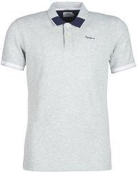 9c51e505 Pepe Jeans - Jonson Men's Polo Shirt In Grey - Lyst