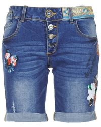 Desigual Rana Shorts - Blue