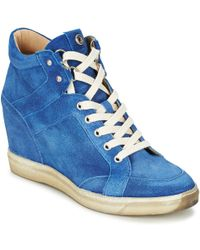 Janet & Janet - Hiblu Shoes (high-top Trainers) - Lyst