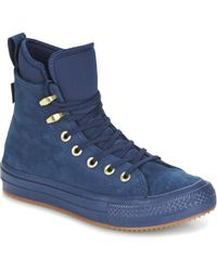 c77b38f0358343 Converse - Chuck Taylor Wp Boot Women s Shoes (high-top Trainers) In Blue