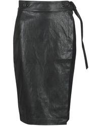 Replay W9310-000-83468-098 Women's Skirt In Black