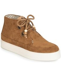 Armistice Sonar Mid Shoes (high-top Trainers) - Brown