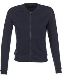 ONLY Joyce Bomber Sweatshirt - Blue