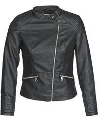 Moony Mood Nock Leather Jacket - Black