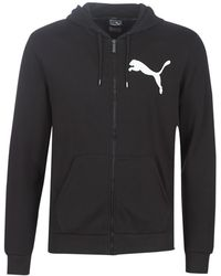 PUMA Fd Ovrsiz Logo Fz Hdy.bk Tracksuit Jacket - Black