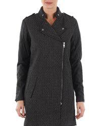 Y.A.S Mind Wool Bicker Jacket Coat - Grey