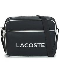 Lacoste Ultimum Messenger Bag - Black