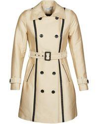 Morgan Gaston Trench Coat - Natural