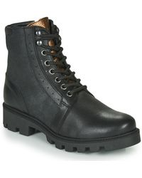 Pataugas Coline/mix F4f Mid Boots - Black