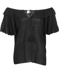 Molly Bracken Molliuz Women's Blouse In Black