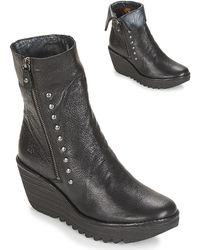 Fly London - Yemi Women's Low Ankle Boots In Black - Lyst