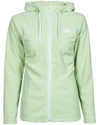 The North Face - W Mezzaluna Full Zip Hoodie Fleece Jacket - Lyst