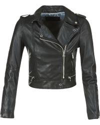 Oakwood Yoko Leather Jacket - Black