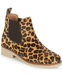 Bensimon Boots Crepe Mid Boots - Natural