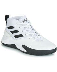adidas Ownthegame Shoes - White