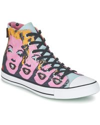 Converse - All Star Hi Brillo Shoes (high-top Trainers) - Lyst