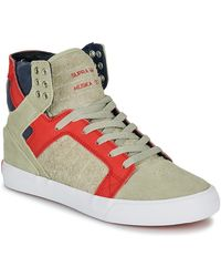Supra Skytop Shoes (high-top Trainers) - Natural