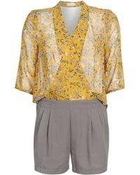 See U Soon Garagale Jumpsuit - Yellow