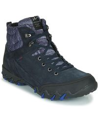 Allrounder By Mephisto Nigata-tex Walking Boots - Blue