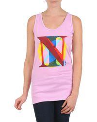 Nixon Pacific Tank Vest Top - Pink