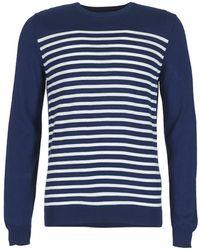 Benetton - Felobo Men's Sweater In Blue - Lyst
