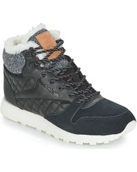 Reebok Classic Leather Artic Boot Shoes (high-top Trainers) - Black