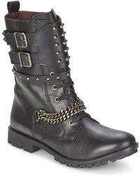 IKKS Ranger-collector-chaine Women's Mid Boots In Black