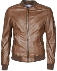 Oakwood United Leather Jacket - Brown