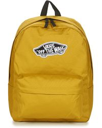 Vans Realm Backpack Olive Oil - Yellow
