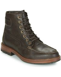 Aigle Licourt High Mid Boots - Brown