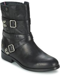 Tommy Hilfiger Piper 1a Women's Mid Boots In Black