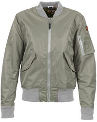 Schott Nyc Bomber By Jacket - Green