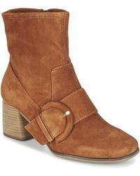 Tamaris - Olenia Low Ankle Boots - Lyst