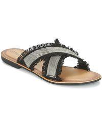 Moony Mood Irta Mules / Casual Shoes - Black