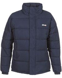 Schott Nyc Nebraska Jacket - Blue