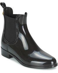 Lemon Jelly Comfy Wellington Boots - Black