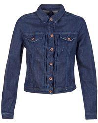 Benetton Fescar Denim Jacket - Blue