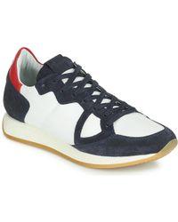 Philippe Model Monaco Vintage Basic Shoes (trainers) - Blue