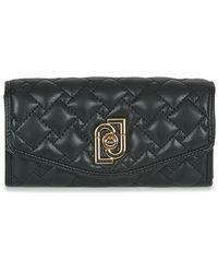 Liu Jo Piacente Xl Bifold Purse Wallet - Black